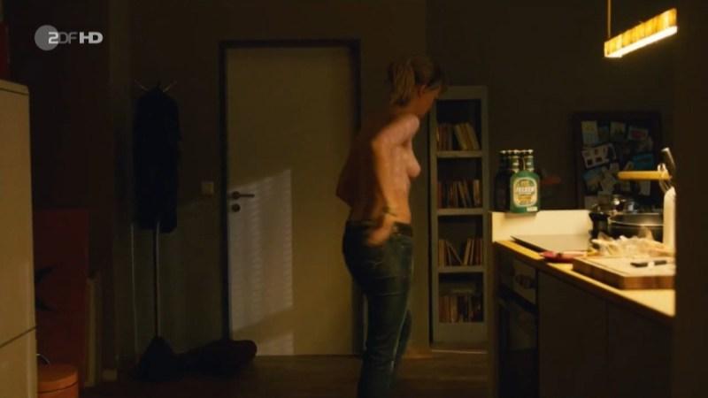 Lisa Wagner sex scene Kommissarin Heller (2013) Nude Video Clip