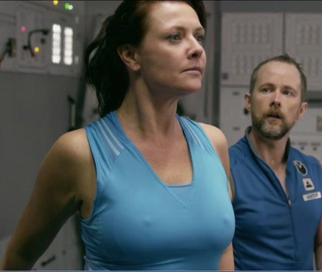 Naked Amanda Tapping In Space Milkshake