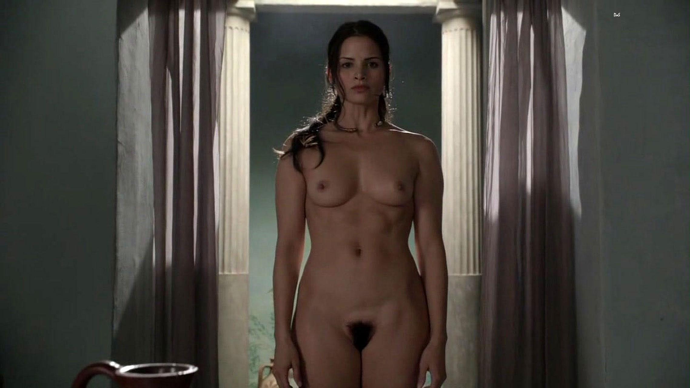 Spartacus Naevia Nude