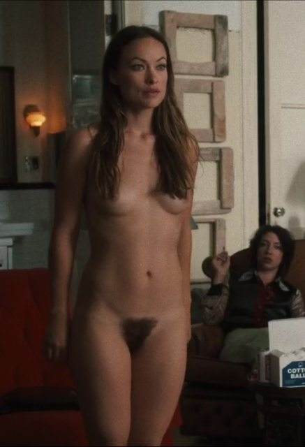 Naked Olivia Wilde In Vinyl 145