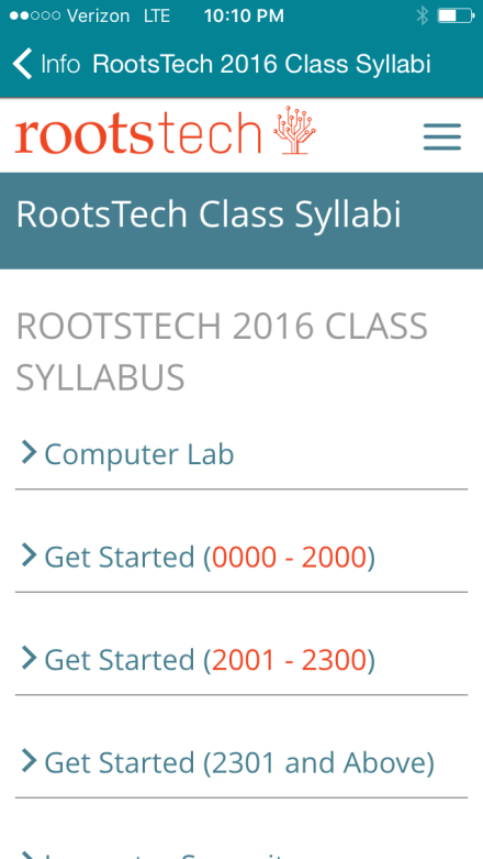 rootstech-app-syllabi-page