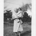 Grandma Vera and little Vera