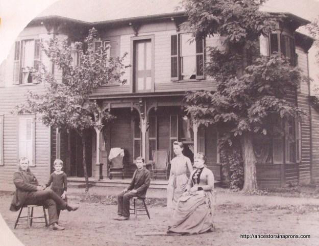 Stout Family old house in Killbuck, Ohio