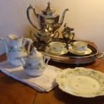 Maude Bartlett's tea service