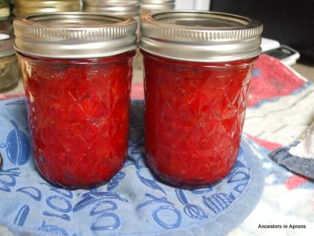 Red Pepper jam