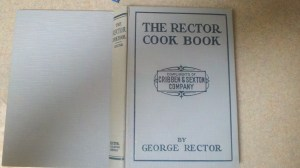 Vintage Cookbook:The Rector Cook Book 1928