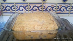 American Fruit Desserts: Blueberry Buckle