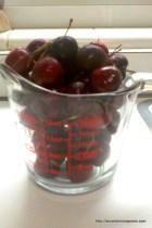 Cherry cobbler cherries