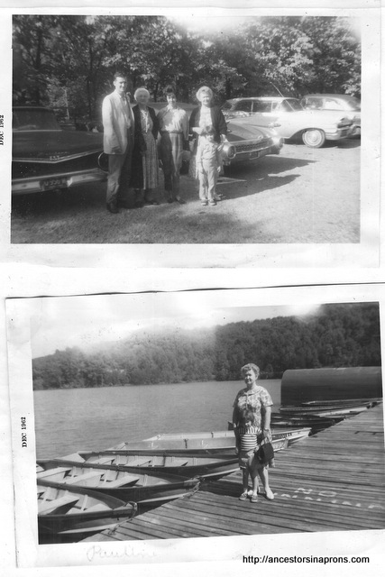 Anderson Family road trip 1950s.