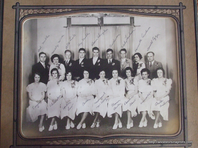 School Days, Killbuck, 1934