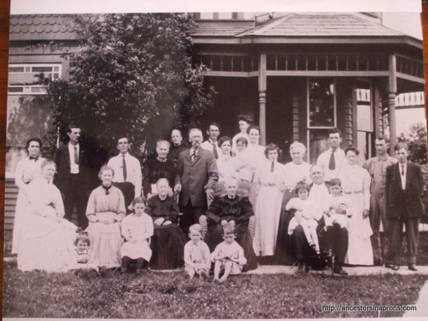 Anderson family photograph