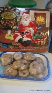 Pfefferneuse Fruit Cake Cookies