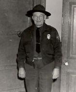 cousin Errett Allison, game warden