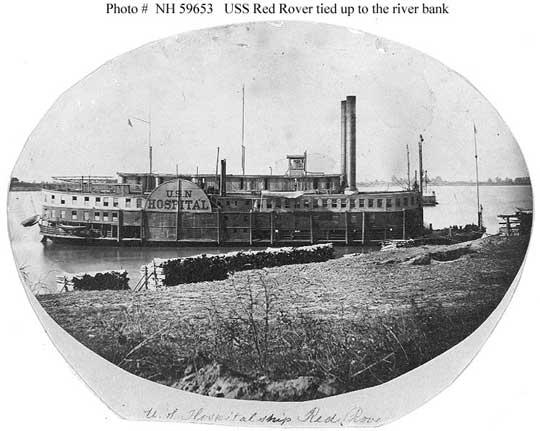 Civil war hospital ship
