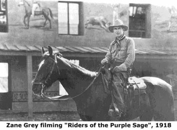 Zane Grey filming