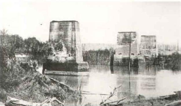 Big Black River Bridge Remains