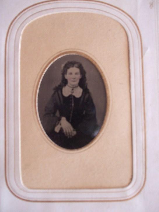Mary Stout, tintype