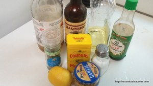Grilled chicken marinade ingredients
