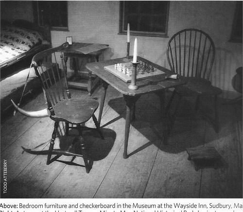 Wayside Inn bedroom