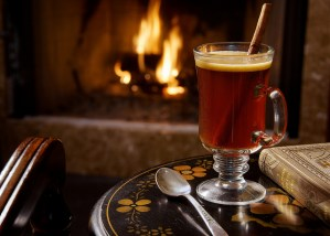 Hot Buttered Rum or Flip