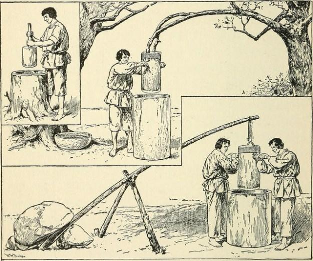 Cider pressing