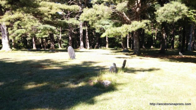 The Old Rutland Burial Grounds,
