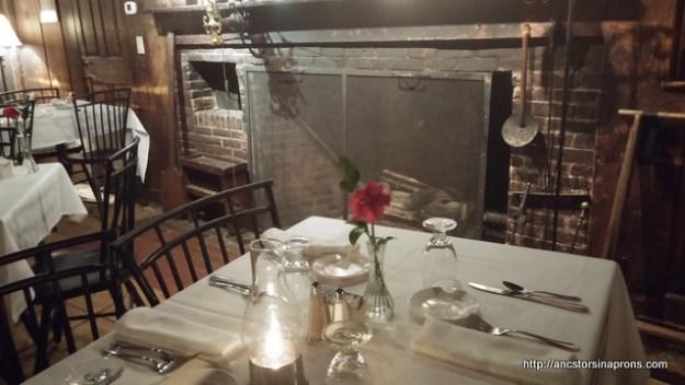 Wayside Inn Old Kitchen Dining Room