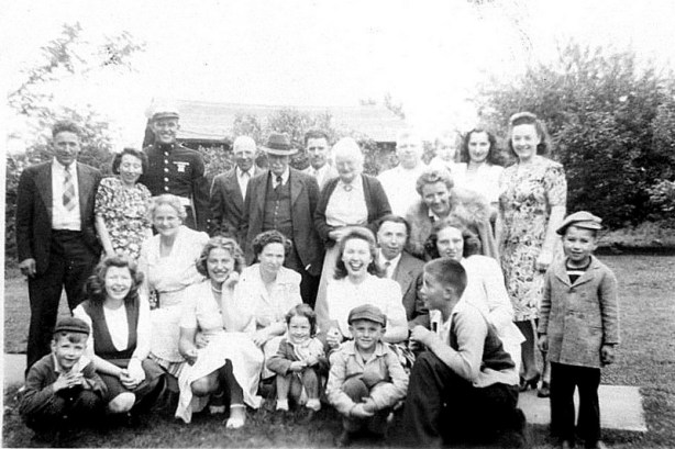 Stucky family and cousins