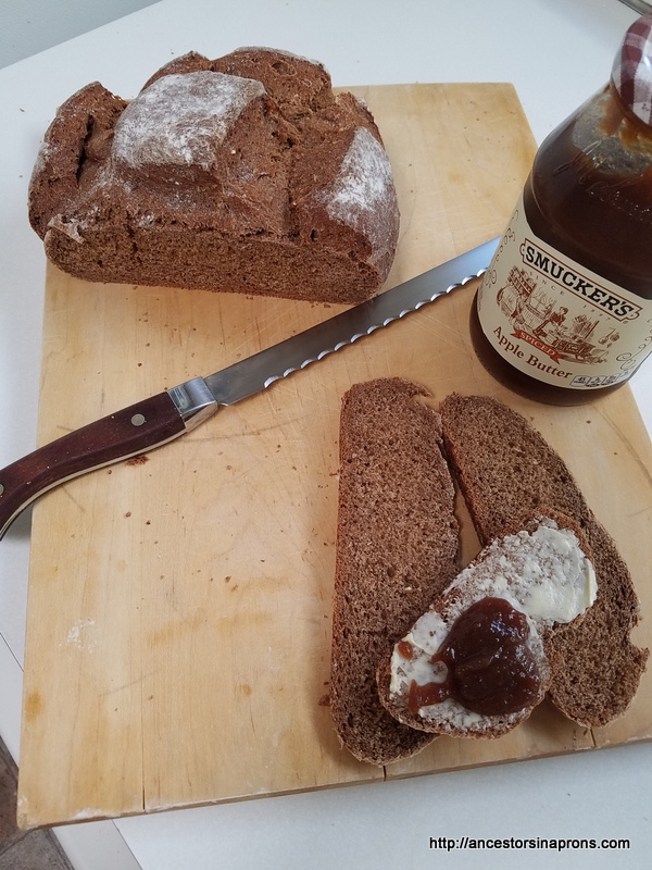 Pumpernickel bread--the whole story.