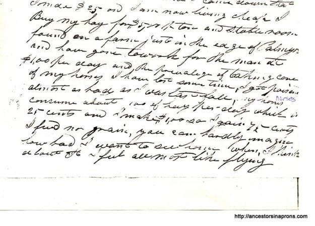 Jesse writes from Palmyra NY