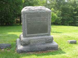 Woods Tombstone