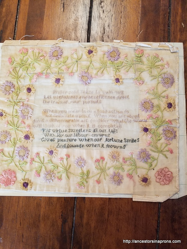Hattie Morgan's Sampler