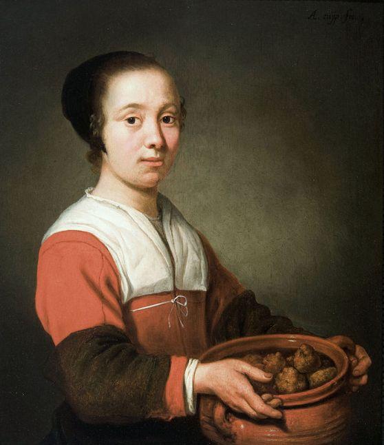Dutch painting oliebolen
