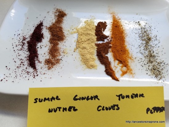 Spices in Colonial America