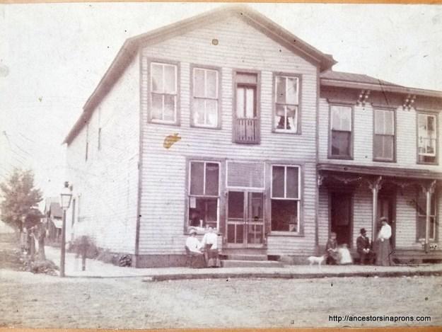 Mary Morgan's old house