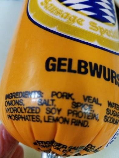 Gelbwurst
