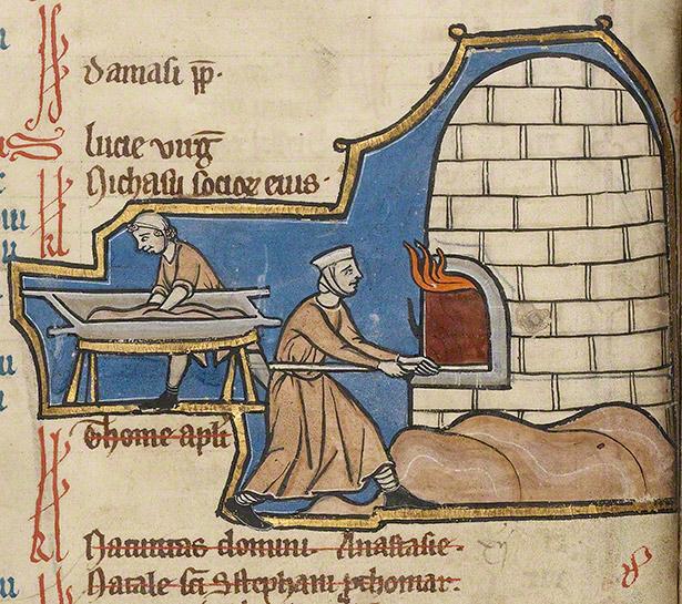 Medieval bread