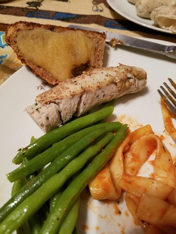 Weisswurst dinner