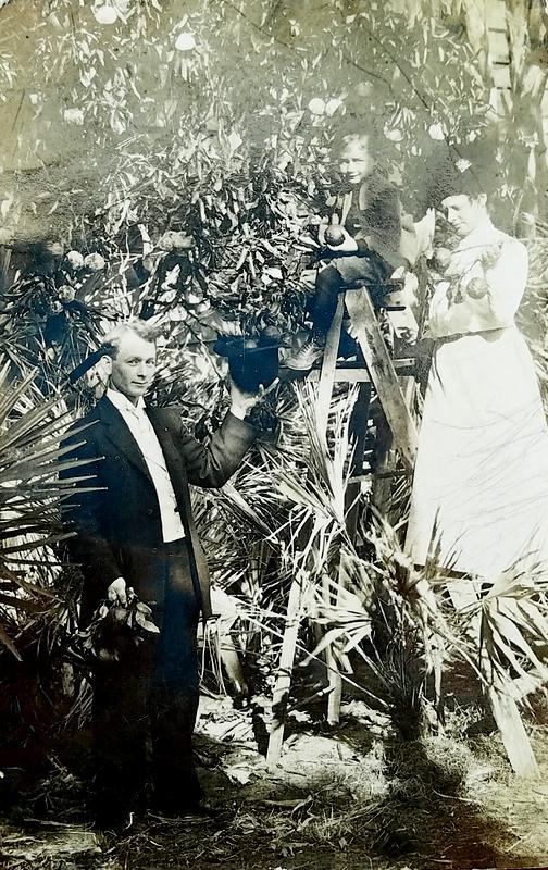 Ben Anderson family, Florida 1910