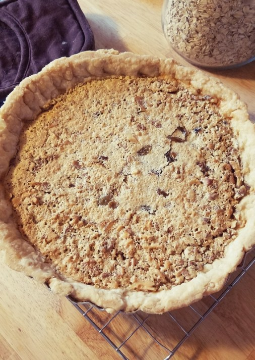 raisin nut pie