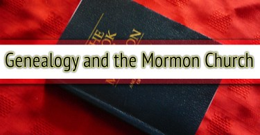 Genealogy and the Mormon Church