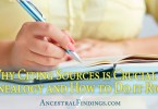Why Citing Sources is Crucial in Genealogy and How to Do it Right