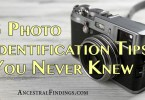 3 Photo Identification Tips You Never Knew