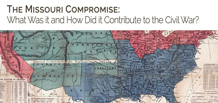 essays on the missouri compromise The missouri compromise stated that missouri would in fact be admitted into the union-as a slave state and maine would also be admitted into the union as a free state therefore maintaining the balance of free and slave practicing states.