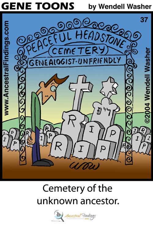Cemetery of the Unknown Ancestor