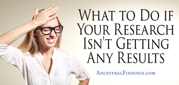 What to Do if Your Research Isn't Getting Any Results