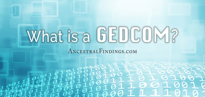 What is a GEDCOM?
