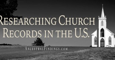 Researching Church Records in the U.S.