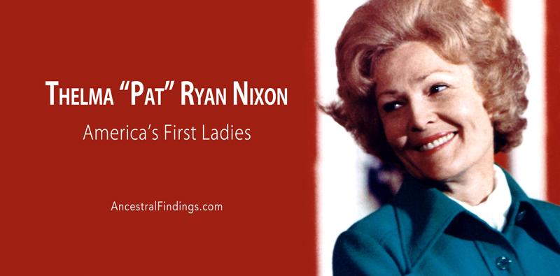 "America's First Ladies, #36 — Thelma ""Pat"" Ryan Nixon"