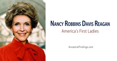 America's First Ladies, #40 – Nancy Robbins Davis Reagan
